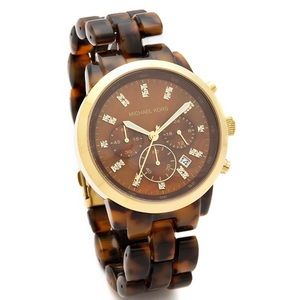 HOST PICK💫Michael Kors Tortoise Shell Watch